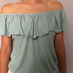 Express off the shoulder top, newly bought.